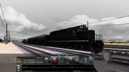 2007年 模拟火车2013【火红年代】EMD SD40-2 短而快的转轨