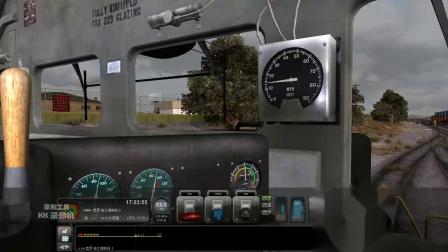 2007年 模拟火车2013【火红年代】EMD SD40-2 准备出发