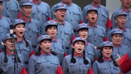 """殷馨交谊舞——利津县:""""唱红歌  忆党情  跟党走""""合唱大赛排练《四渡赤水出奇兵》"""