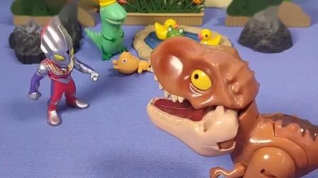 小恐龙欺负小朋友,小恐龙做梦都能笑醒,佩奇还是不打扰小恐龙了