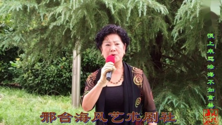 邢台海风艺术剧社老高远大演唱-豫剧《白蛇传》恨上来骂法海不如禽畜