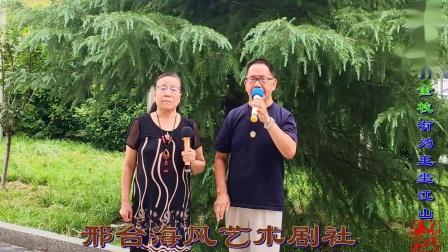 邢台海风艺术剧社戏如人生夫妇演唱豫剧《打金枝》有为王那个坐江山非容易