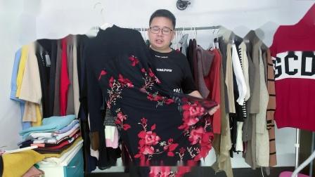 东莞大朗梵莱尼8-26期18杂款长款女装毛衣款式展示