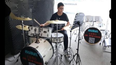 泰安七乐琴行  李俊豪   架子鼓演奏 《英雄》