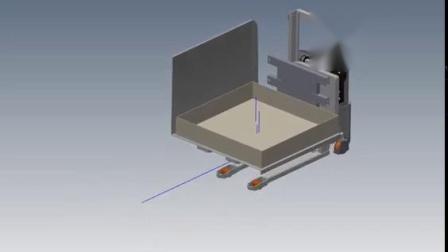 定制案例-带有角度平台的全电动翻转车
