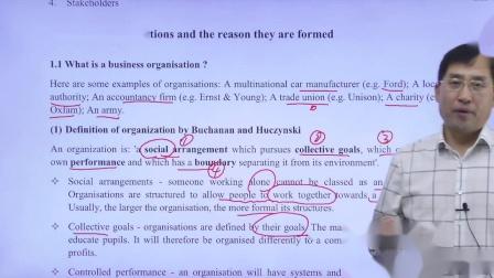金立品徐开金ACCA-BT(F1)试听课What is a business organisation