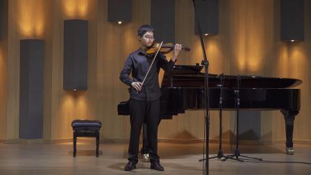 Hairui Lei  Bach BWV1005 Largo&Allegro assai
