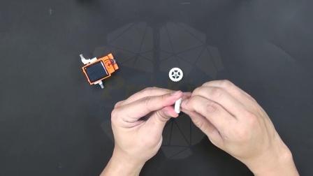 GE-619 淘气小 8八变太阳能机器人 组装步骤