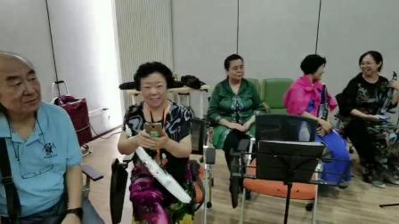 《排练现场》为中秋节网络直播做准备20210902