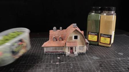 油管大神变废为宝打造《魔女宅急便》琪琪和吉吉的家