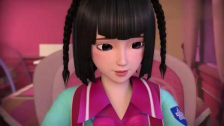 精灵梦叶罗丽:水王子突然带蛋糕出现王默身边,这一幕简直太甜了