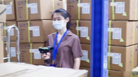 unitech HT730手持式数据采集器_20米长距离扫描测试