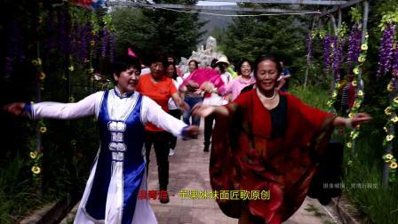 青海高原跳广场舞《浪青海》 @烟台摄影采风团