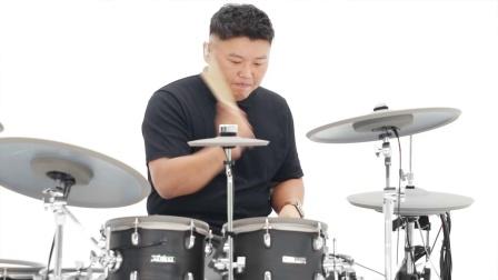 韩国鼓手演示【EFNOTE 5X 电子鼓】