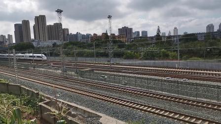 20210827 100336 西成高铁D1917次列车高速通过汉中站