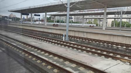 20210828 090003 西成高铁G350次列车高速通过汉中站