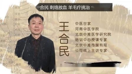 《中医传承人》系列栏目——刺络放血授课专家王合民