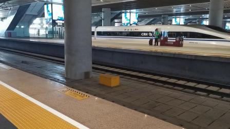20210911 140530 徐兰(西宝)高铁G854次列车进西安北站