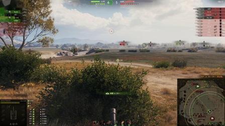 坦克世界 冷门排位车103B到处追杀带节奏与暴力4005