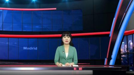 vMix虚拟集 演播室场景新闻访谈直播间主持人抠像背景两个颜色各四镜头