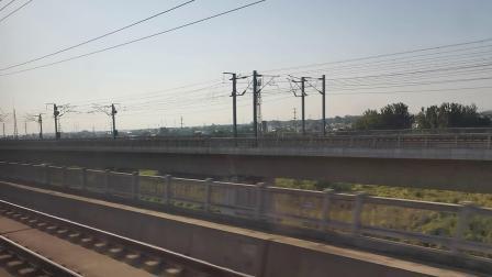20210911 170640 徐兰(郑西)高铁G2211次列车高速通过渭南北站