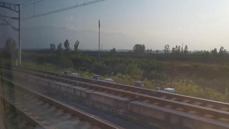 20210911 174431 西成高铁G2211次列车高速通过鄠邑站