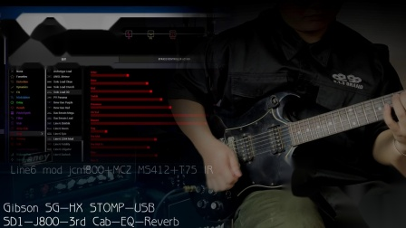 HX STOMP英式音箱集锦marshall jcm800 2204 Line 6 mod