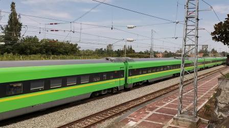 20210912 125602 阳安铁路D5083次列车通过王家坎站