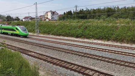 20210912 132355 阳安铁路D5086次列车通过王家坎站
