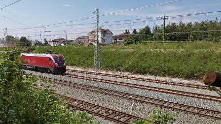20210912 135915 阳安铁路客车K768次列车通过王家坎站