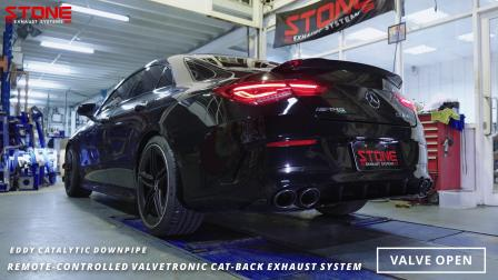 Mercedes AMG X118 M139 CLA45s / Stone Turboback Exhaust System