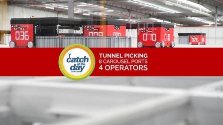 瑞仕格AutoStore密集存储系统应用于Catch of The Day澳大利亚电商巨头项目现场_Swisslog 2015