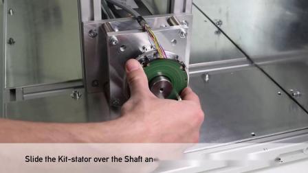 学习如何安装博思特通孔空心轴KIT编码器