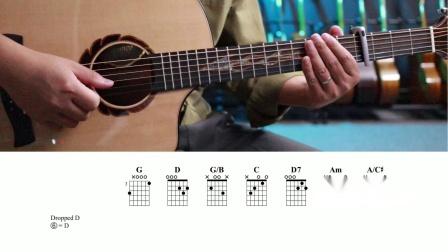 【指弹教学】天空之城《鸽子与少年》 小磊吉他出品