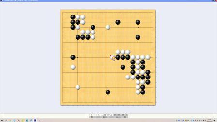 张一言对弈城3段对局复盘-AlanGo围棋网络课堂