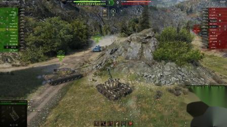 坦克世界 奖励车阿斯特朗雷克斯5连发实战讲解