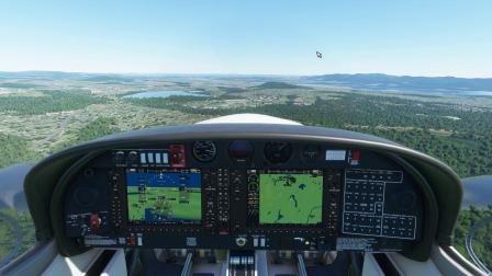 《微软模拟飞行2020》塞斯纳172纽约斯图尔特机场试飞[下集]