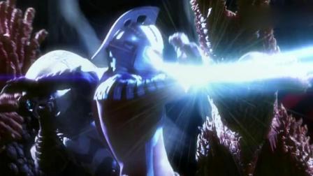 赛罗:雷变成本体后,简直就是外星人中的叶问,一个打十个!