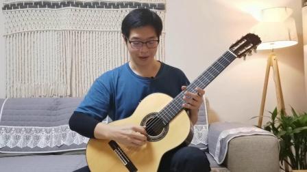 古典吉他公开课 | 09 右手拨弦练习(上)