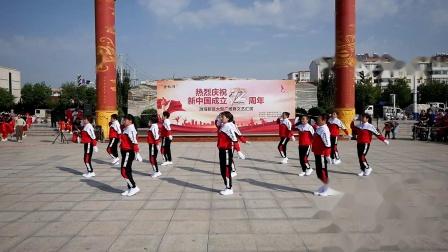 5、舞蹈《我的国》 渤海新区港城区姐妹广场舞队