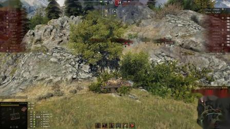 坦克世界 蕾丝新8金10杀大翻盘与战神268V4不可思议
