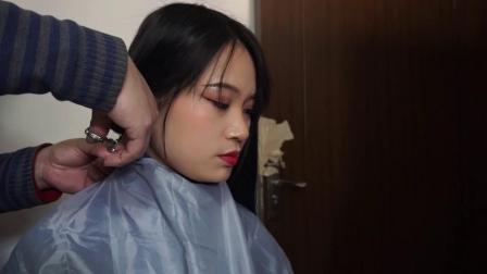 女生宿舍剪头发2