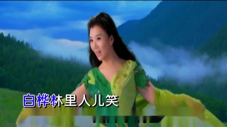 乌苏里船歌_刘子琪版纯伴奏:警魂