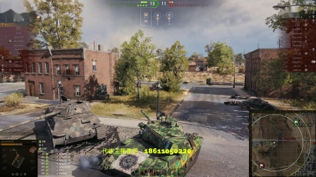 坦克世界 消音M41D拯救团队与三把大斧的不缩圈五重万伤