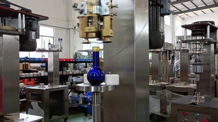 潘多拉魔盒般的瓶子(许下你的愿望)-半自动锁盖机  广州市方圆机械公司
