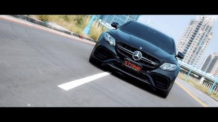 Mercedes AMG M177 W213 E63s / Stone Eddy Catted Downpipe