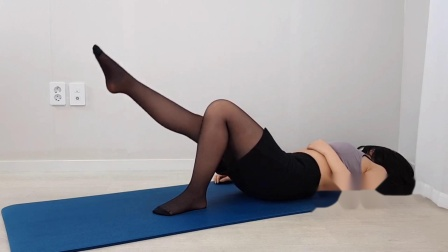 家庭式瑜伽练习日常