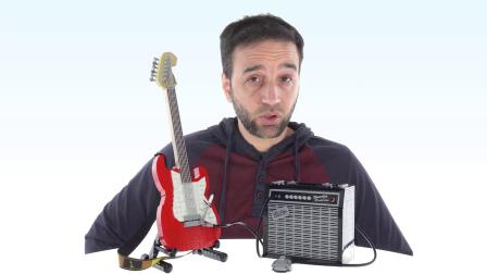 乐高21329 Ideas Fender Stratocaster LEGO积木砖家评测
