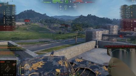 坦克世界 天秀大老鼠逆天走位双万伤与红茶轻坦