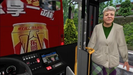 【Richard】松4好耶!南宁86路+申龙混动试玩 | 巴士模拟2 #29